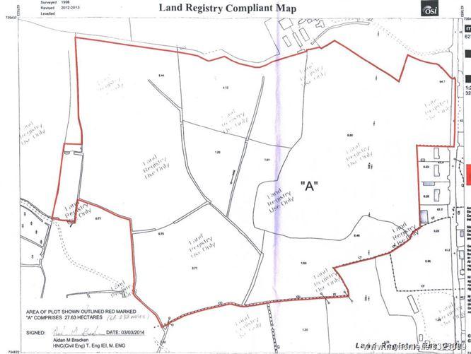 C. 68.29 Ac Land Kilmalady Big, Clara, Offaly