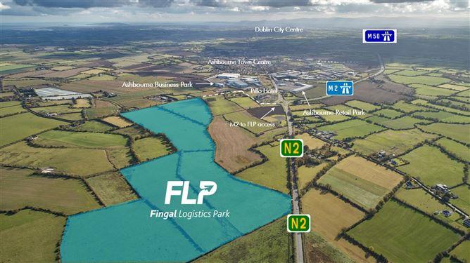 Main image for Fingal Logistics Park c. 116 acres,  Zoned Industrial & Logistics Development , Dublin 11, Dublin