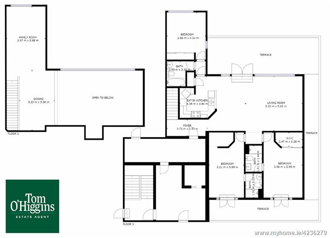 Penthouse 28 The Ramparts, Cabinteely, Dublin 18