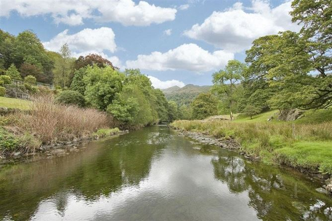 Main image for Riverbank At Stepping Stones,Lake District National Park, Cumbria, United Kingdom