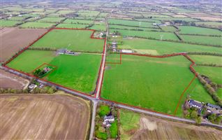 Cottage, Secure Yard & Outhouses on c. 19.16 Hectares (c. 47.35 Acres) Lagore Little, Ratoath, Meath
