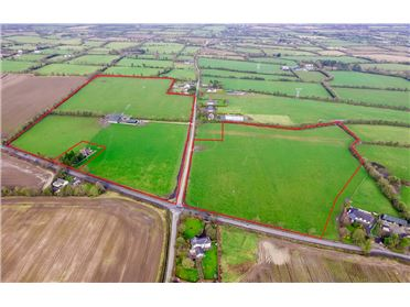 Photo of Cottage, Secure Yard & Outhouses on c. 19.16 Hectares (c. 47.35 Acres) Lagore Little, Ratoath, Meath