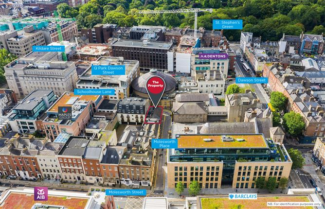 Main image for 5 & 6 Molesworth Place and 1D Schoolhouse Lane, South City Centre, Dublin 2