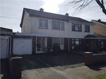 41 Tymon Cresent Old Bawn, Tallaght,   Dublin 24