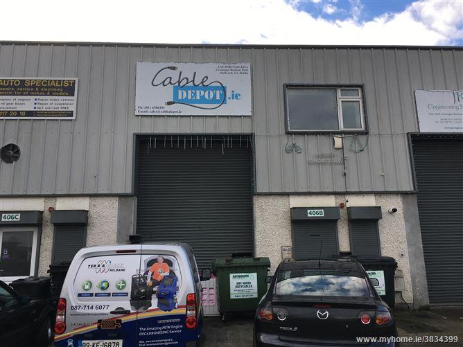 Unit 406B, Grants Drive, Greenogue Business Park, Rathcoole, Dublin