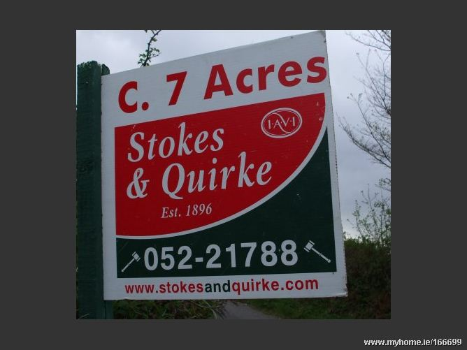 C. 7 ACRES @ RUSSELLSTOWN, Kilmanahan, Clonmel, Co. Tipperary
