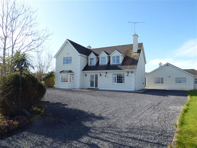 Main image for The Meadows, Castlemagarrett, Park New -Comprises of * 4 Bedroom Detached House c. 2269 sq.ft.. * 2 Bedroom Bungalow c. 886 sq.ft. * Large Garage. * Large Landscaped site, Claremorris, Mayo