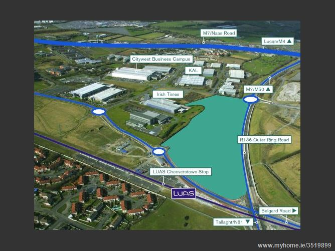 Main image for Cheeverstown / Citywest, Outer Ring Road, Dublin 24